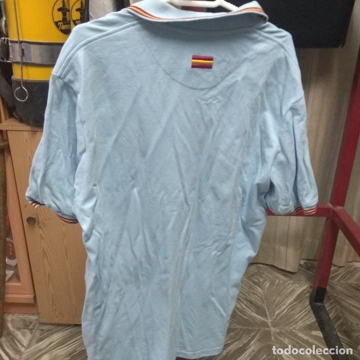 Militaria: Camiseta del Ejército del Aire con parche bordado, talla M Mediana, para coleccionstas - Foto 3 - 176565475
