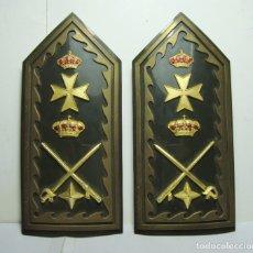 Militaria: PALAS RÍGIDAS MILITARES DE SANIDAD DE LAS FUERZAS ARMADAS. PARA GENERAL DE BRIGADA. . Lote 177126464