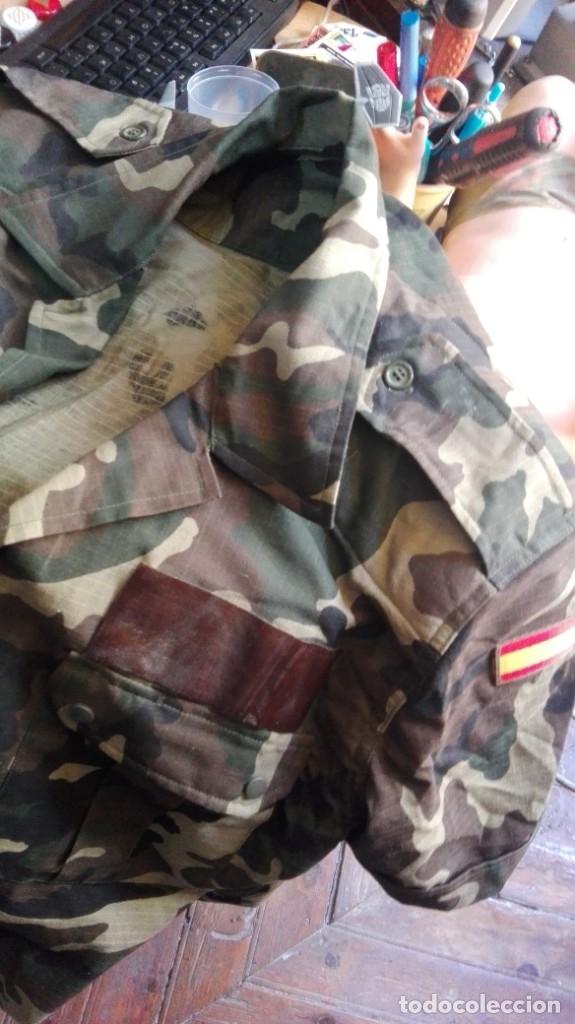 2 CAMISAS Y PANTALON EJERCITO ESPAÑOL VER TALLA EN FOTOS (Militar - Uniformes Españoles )