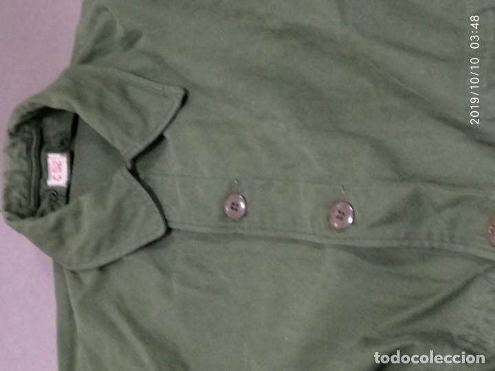 Militaria: CHAQUETÓN 3/4, TALLA GRANDE, DESCONOZCO PAIS, CORDÓN EN CINTURA, EN MUY BUENAS CONDICIONES - Foto 4 - 178915780