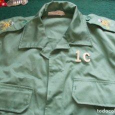 Militaria: CHUPITA CHAQUETA LEGIÓN CON HOMBRERAS BORDADAS TALLA 1C. Lote 179133151