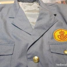 Militaria: CHAQUETA ANTIGUA CORREOS TELEGRAFOS AÑOS 70 ORIGINAL ESCASA. Lote 179183780