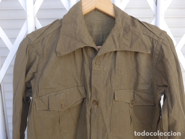Militaria: * Antigua camisa militar republicana de guerra civil. Original. ZX - Foto 2 - 180018016