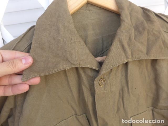 Militaria: * Antigua camisa militar republicana de guerra civil. Original. ZX - Foto 3 - 180018016