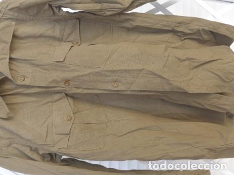 Militaria: * Antigua camisa militar republicana de guerra civil. Original. ZX - Foto 4 - 180018016