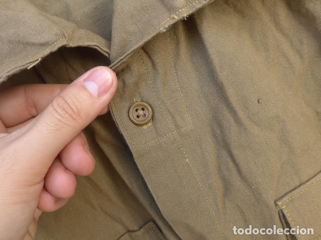 Militaria: * Antigua camisa militar republicana de guerra civil. Original. ZX - Foto 5 - 180018016