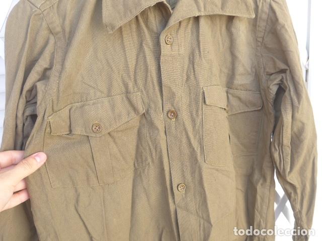 Militaria: * Antigua camisa militar republicana de guerra civil. Original. ZX - Foto 8 - 180018016