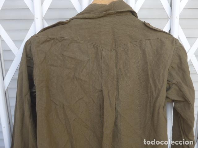 Militaria: * Antigua camisa militar republicana de guerra civil. Original. ZX - Foto 10 - 180018016
