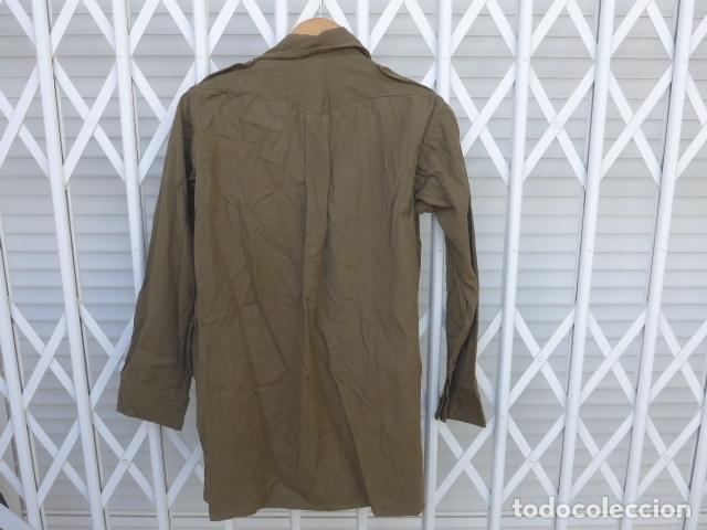 Militaria: * Antigua camisa militar republicana de guerra civil. Original. ZX - Foto 12 - 180018016
