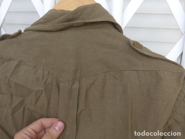 Militaria: * Antigua camisa militar republicana de guerra civil. Original. ZX - Foto 13 - 180018016