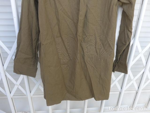 Militaria: * Antigua camisa militar republicana de guerra civil. Original. ZX - Foto 14 - 180018016