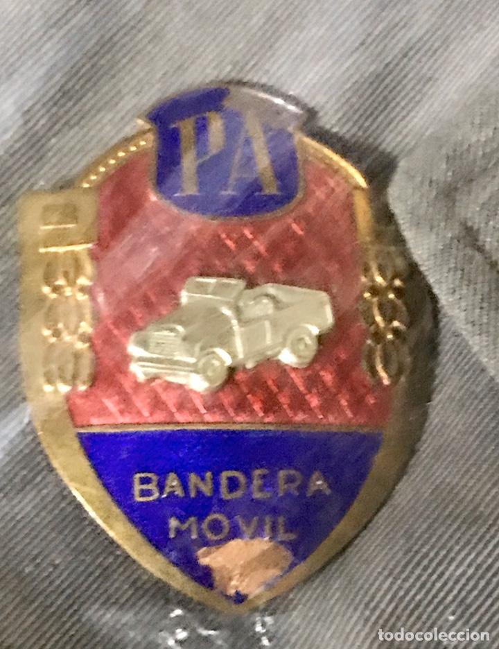 Militaria: GUERRERA POLICÍA ARMADA CON PLACA DE PECHO BANDERA MÓVIL - Foto 3 - 180896406