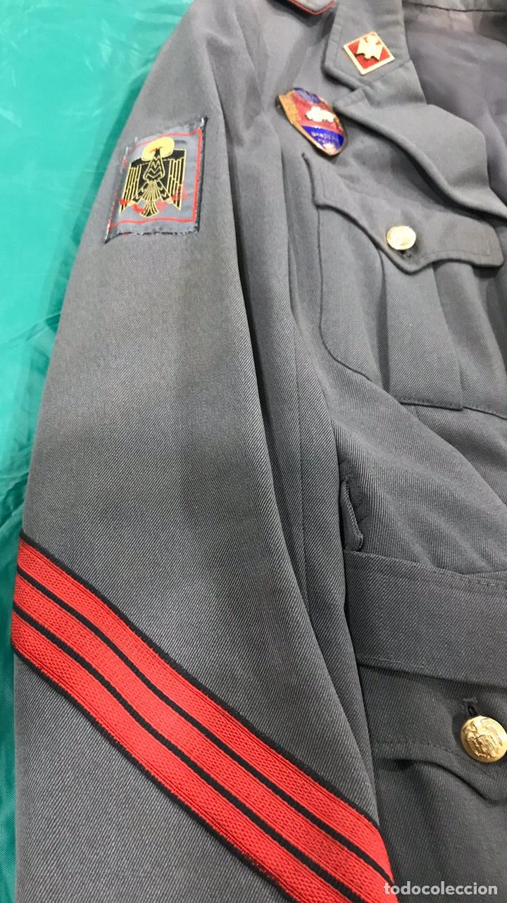Militaria: GUERRERA POLICÍA ARMADA CON PLACA DE PECHO BANDERA MÓVIL - Foto 5 - 180896406