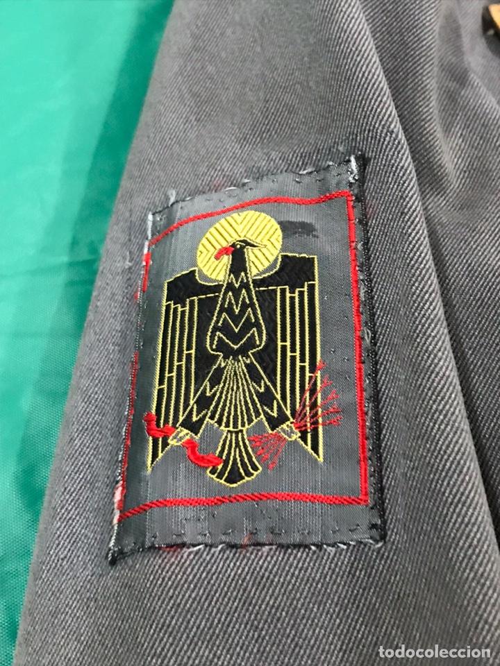 Militaria: GUERRERA POLICÍA ARMADA CON PLACA DE PECHO BANDERA MÓVIL - Foto 6 - 180896406