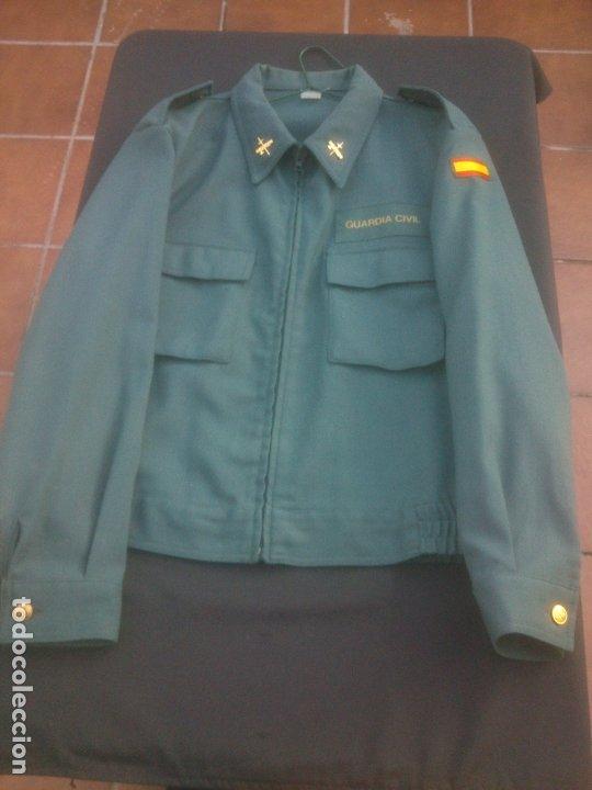 Militaria: Chaqueta cazadora de servicio GUARDIA CIVIL - Foto 4 - 181121357