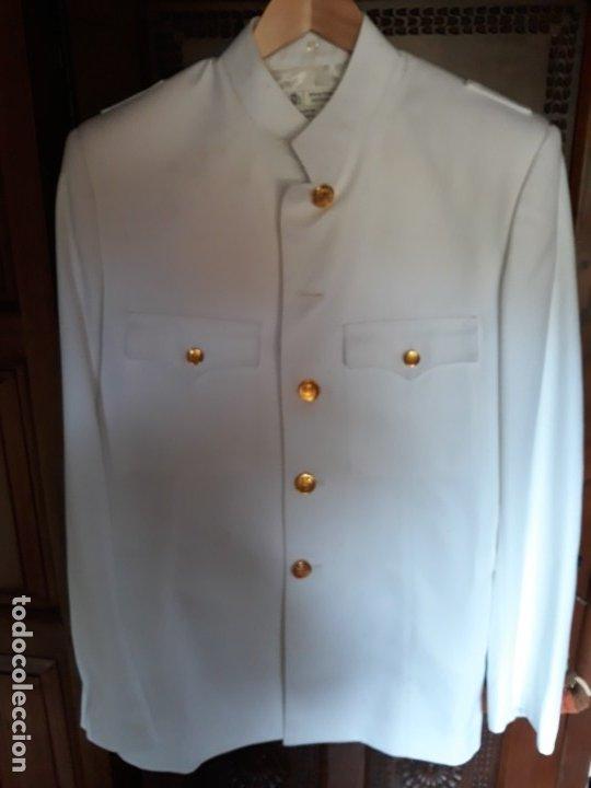 Militaria: Uniforme de cuerpos comunes guerrera talla 52 y pantalon talla 48, sin estrenar - Foto 6 - 245401045