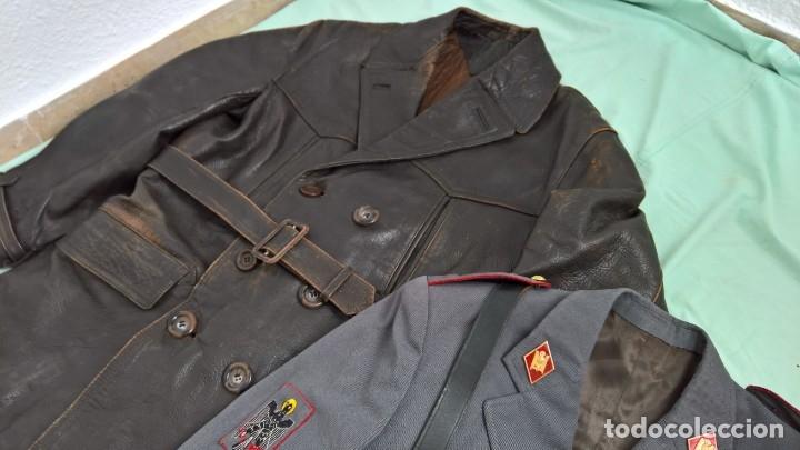 Militaria: policia armada..guerrera , gorra ,correajes , chaqueton ....epoca franco. - Foto 9 - 49637851