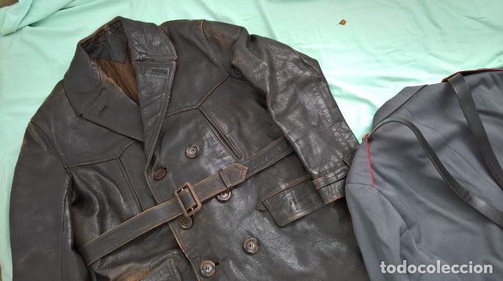 Militaria: policia armada..guerrera , gorra ,correajes , chaqueton ....epoca franco. - Foto 10 - 49637851