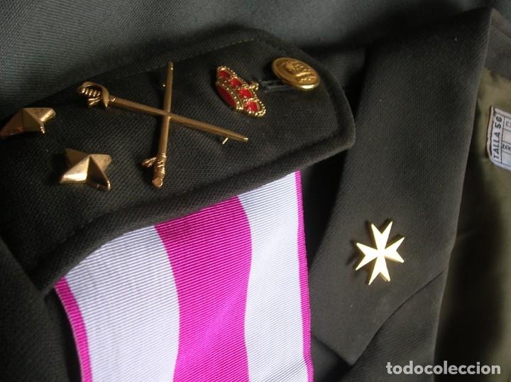 Militaria: MUY RARO Y ESCASO UNIFORME COMPLETO DE GENERAL DE DIVISIÓN DE SANIDAD. - Foto 4 - 182769698
