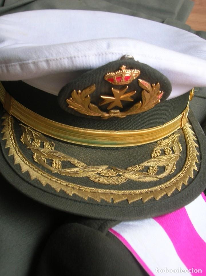 Militaria: MUY RARO Y ESCASO UNIFORME COMPLETO DE GENERAL DE DIVISIÓN DE SANIDAD. - Foto 13 - 182769698