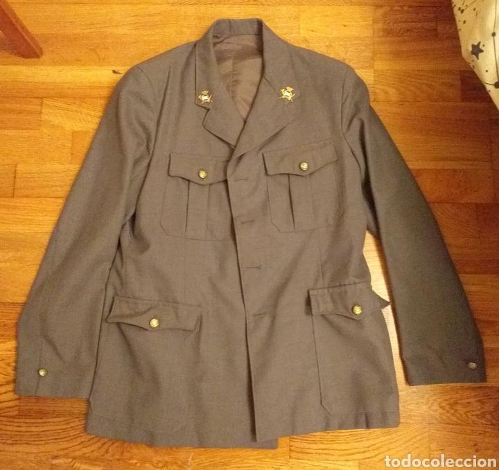 Militaria: Chaqueta de cartero de correos años 70 - Foto 5 - 183588328