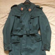 Militaria: GUARDIA CIVIL, GABARDINA TRES CUARTOS DE CABO 1º, FINALES AÑOS 70. Lote 183810156