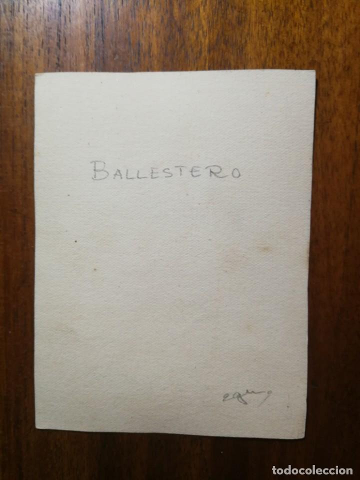 Militaria: Ballestero - Original Artístico - 8,5 cm x 11,3 cm - Foto 2 - 189896753