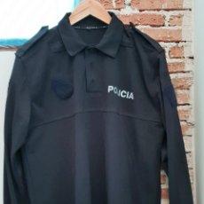 Militaria: POLO DE MANGA LARGA DE POLICÍA LOCAL. TALLA XL. MUY POCO USO. Lote 190278066