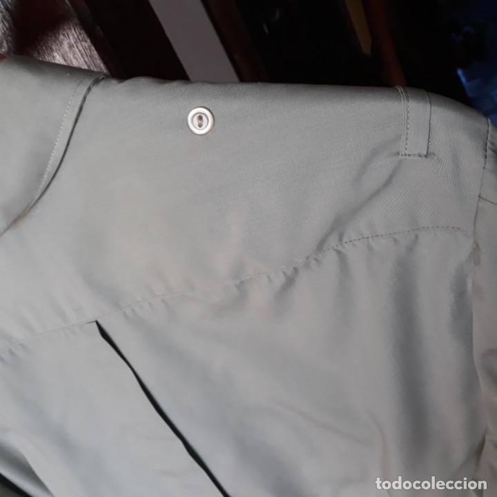 Militaria: Camisa verde oliva de manga larga del uniforme de cuerpos comunes,talla 40 - Foto 4 - 192715545