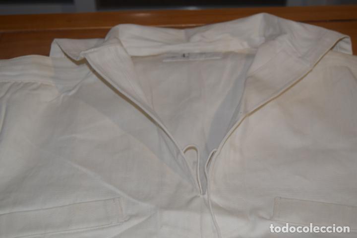 Militaria: pantalon y guerrera de la marina sin uso - Foto 2 - 193192260