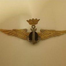 Militaria: ALAS AVIACION NAVAL.7,5 CM.. Lote 193221292
