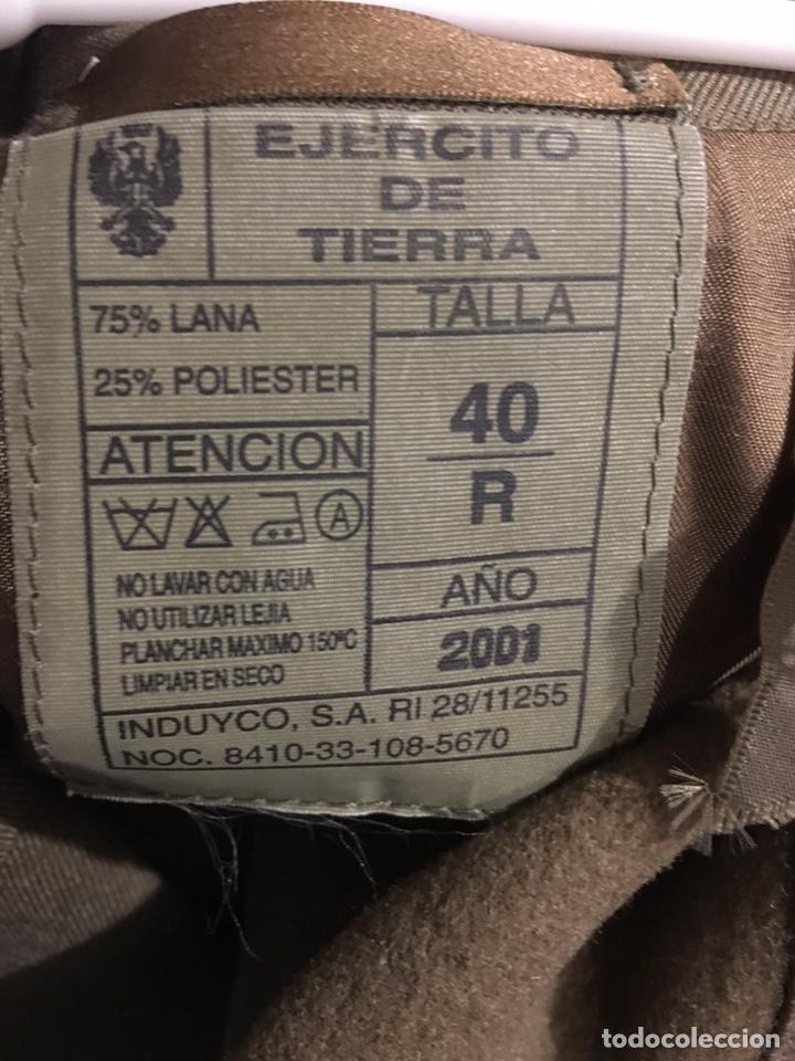 Militaria: TRAJE MILITAR DE GALA. EJERCITO ESPAÑOL. TALLA 40 - SOLDADO DE PRIMERA. COMPLETO - Foto 3 - 204425663