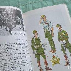 Militaria: UNIFORMES DE LA LEGION..75 AÑOS DE UNIFORMES..FOTOS..UNIFORMES..PEPITOS..GUIONES... Lote 194260630