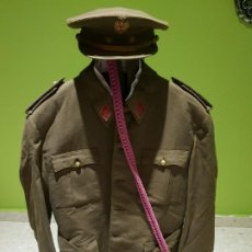 Militaria: EXCELENTE UNIFORME DE UN TENIENTE DE ARTILLERIA DEL EJÉRCITO ESPAÑOL. ÉPOCA DE FRANCO. Lote 194346292