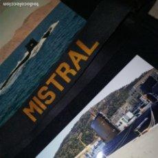 Militaria: CINTA DE LEPANTO.MISTRAL S-73.FOTOGRAFÍA ORIGINAL 1999.Y POSTAL AÑO 88.. Lote 194533268