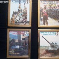 Militaria: LOTE CUATRO PORTADAS ENMARCADAS.REVISTA. Lote 194866071