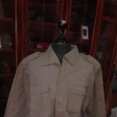 Militaria: CAMISOLA ATN. GUERRERA COLOR ARENA. TROPAS NOMADAS SAHARA. REGULARES. TALLA GRANDE.. Lote 195004231