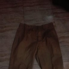 Militaria: PANTALONES COLOR GARBANZO. REGULARES RECREACION GUERRA CIVIL.. Lote 195011465