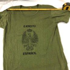 Militaria: CAMISETA INTERIOR. EJERCITO DE TIERRA. FECSA AÑOS 90.. Lote 195162722