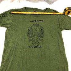 Militaria: CAMISETA INTERIOR DEL EJERCITO DE TIERRA. AÑOS 90. Lote 195163020