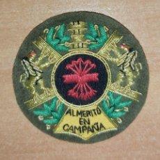 Militaria: MEDALLA COLECTIVA DE LA FALANGE FONDO NEGRO.BORDADA. Lote 195184205
