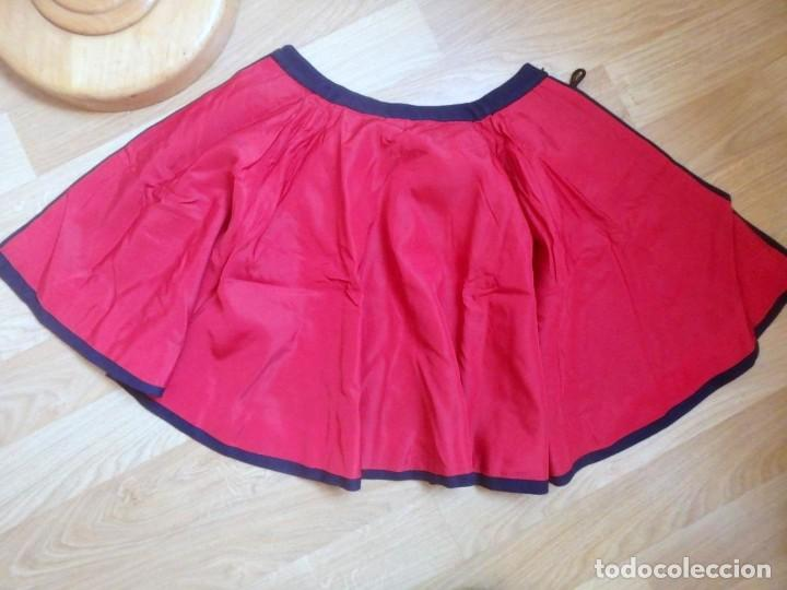 Militaria: (JX-200286)Capa para uniforme militar infantil , azul y roja , paño y raso . - Foto 7 - 195322368