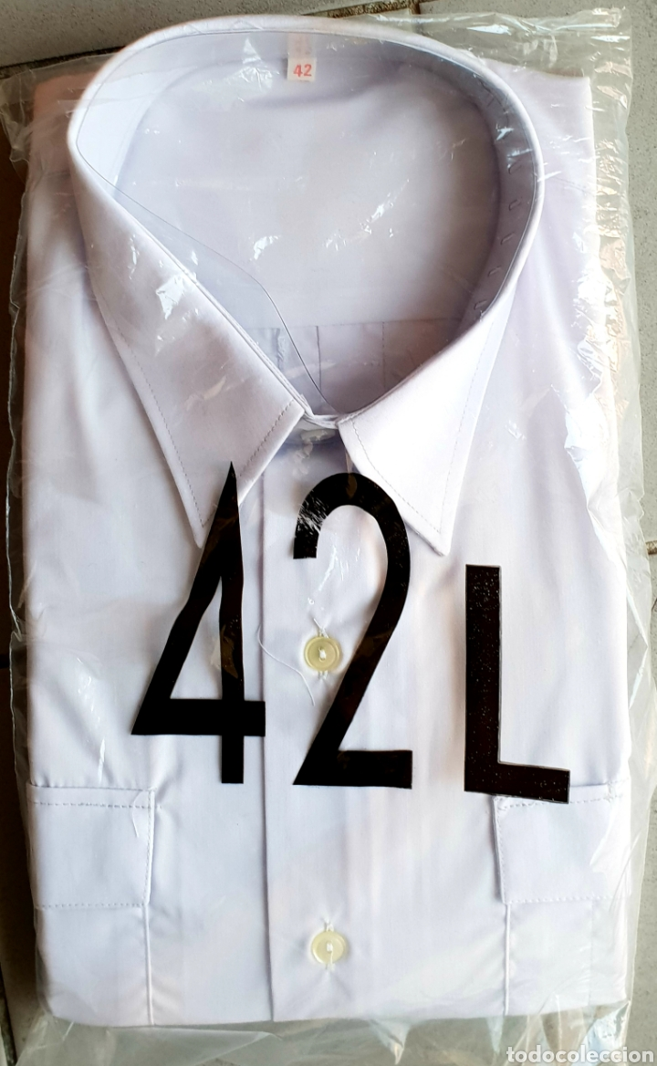 Militaria: Antigua camisa de Policía Nacional - Foto 2 - 195335728