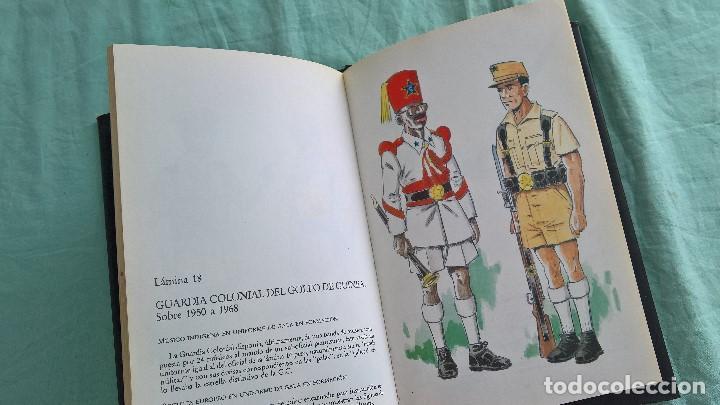 NUESTRAS TROPAS EN GUINEA..UNIFORMES..UNIFORMIDAD.. (Militar - Uniformes Españoles )