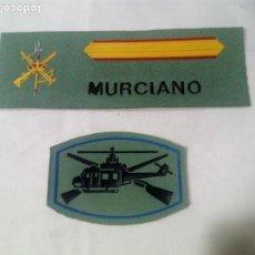 Militaria: TIRA SARGA Y PARCHE HELITRANSPORTADOS.. Lote 195518523