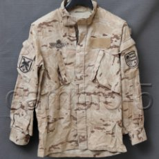 Militaria: CHAQUETA DE UNIFORME PIXELADO ÁRIDO PARACAIDISTA BRIPAC CON TRES PARCHES.. Lote 210522453