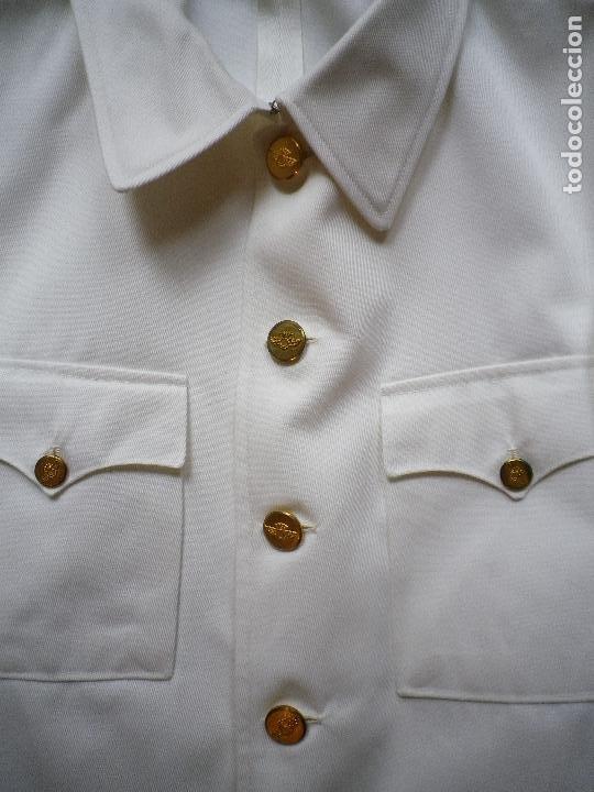 Militaria: Guerrera de uniforme blanco de verano, para Ejército del Aire - Foto 2 - 195663907