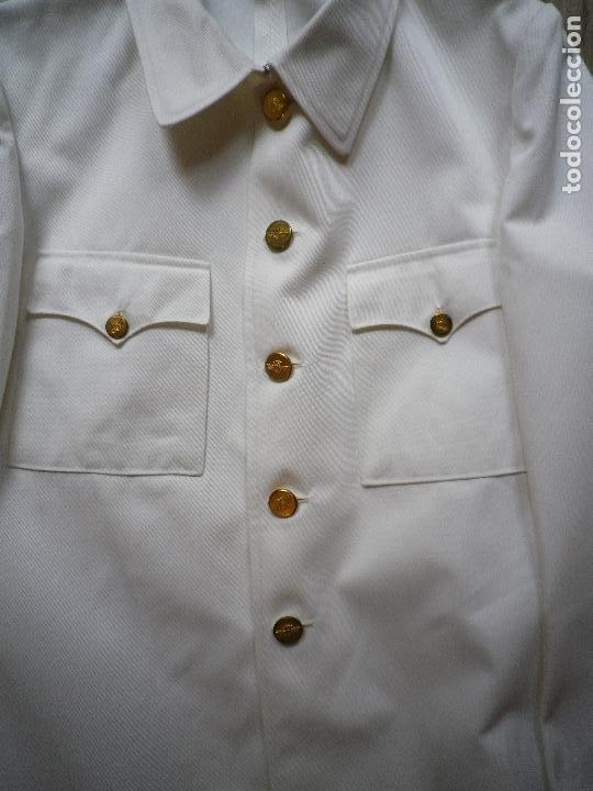 Militaria: Guerrera de uniforme blanco de verano, para Ejército del Aire - Foto 4 - 195663907