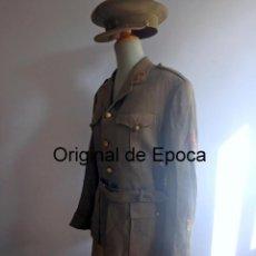 Militaria: (JX-200312)UNIFORME TENIENTE CORONEL CON MEDALLA MILITAR COLECTIVA DE TROPAS REGULARES Y ANGULO HERI. Lote 195975927