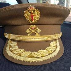 Militaria: GORRA DE PLATO GENERAL DE DIVISIÓN EJÉRCITO DE TIERRA. Lote 196219425